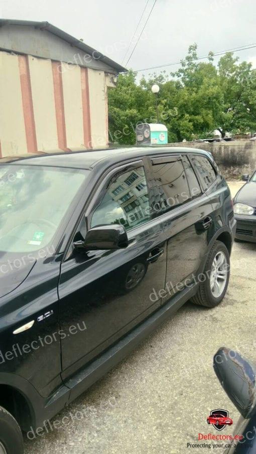 Ветробрани AutoPlex - BMW X3 (E83) 5D 2003-2010R (+OT) 1