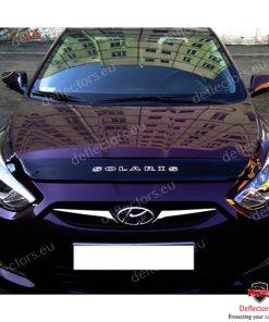 Дефлектор за преден капак за Hyundai Solaris / Accent 2010-2014 (къс)