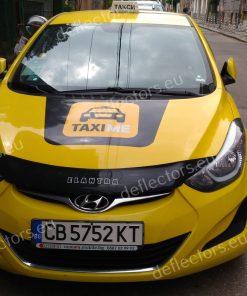 Дефлектор за преден капак за Hyundai Elantra 2011-2015 (къс)