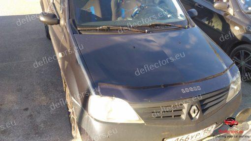 Дефлектор за преден капак за Renault Logan 2005-2013 (Dacia Logan)