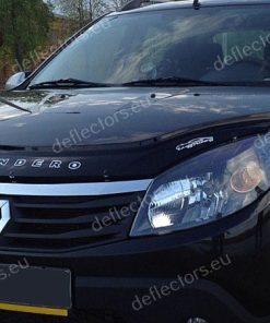 Дефлектор за преден капак за Renault Sandero 2008-2013 / Dacia Sandero 2008-2012