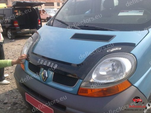 Дефлектор за преден капак за Renault-Trafic-2001-2014-дълъг дефлектор