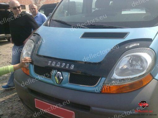 Дефлектор за преден капак за Renault Trafic 2001-2014 (дълъг)
