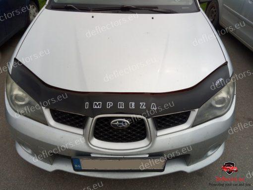 Дефлектор за преден капак за Subaru Impreza 2005-2007 4
