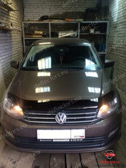 Дефлектор за преден капак за Volkswagen VW Polo 5 NEW 2015 sedan