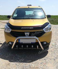 Дефлектор за преден капак за Dacia (Renault) Lodgy (Dokker) 2012- 3 (1)