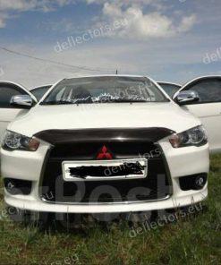 Дефлектор за преден капак за Mitsubishi Lancer 2011- (къс)