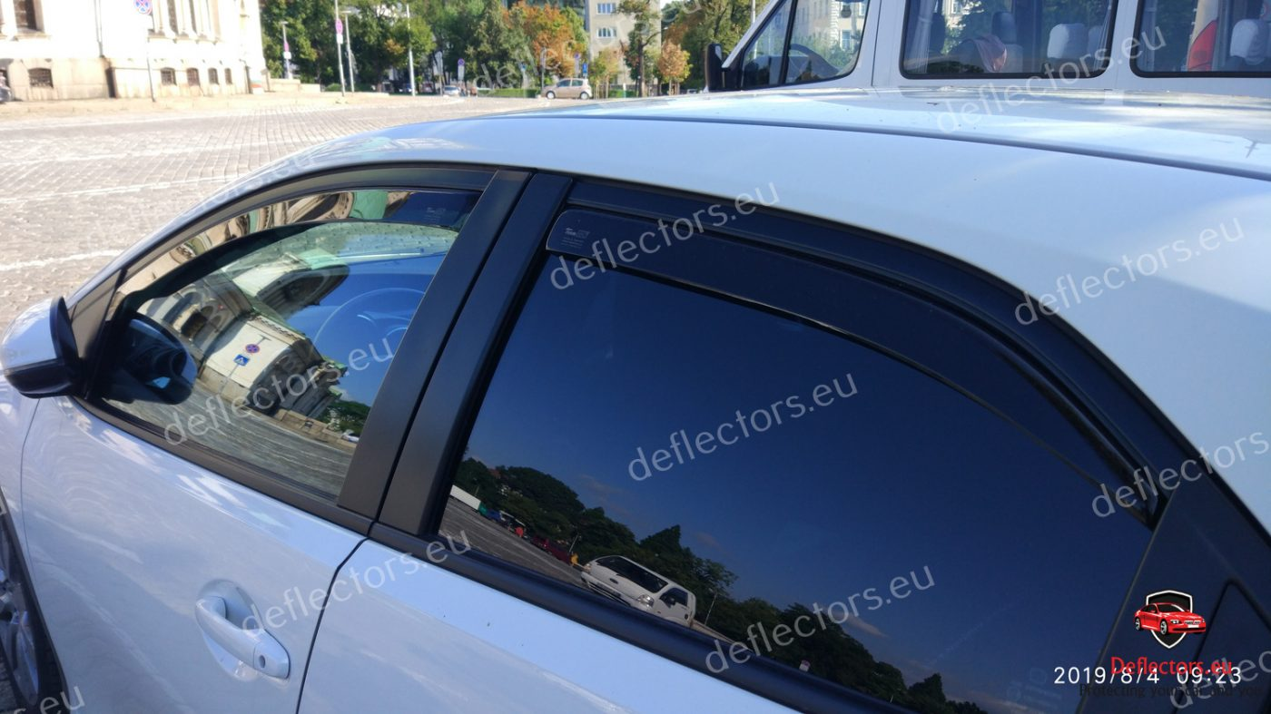 06-12 HEKO 17135 saute vent 4 Pcs Honda Civic VIII 4 türig Berline Bj