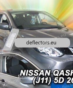 Ветробрани за Nissan Qashgai-2013 5D