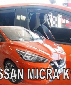 Ветробрани за Nissan Micra K14 2017- 4pieces heko