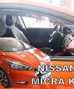 Ветробрани за Nissan Micra K14 2017- front heko