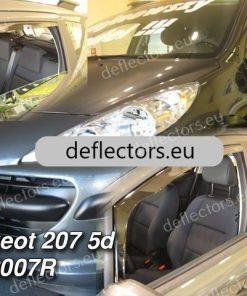 Ветробрани Heko за Peugeot 207 2006- 3D