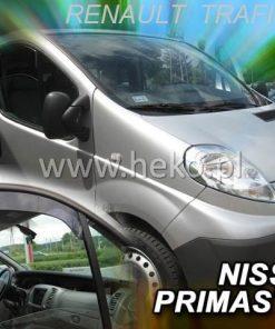 Ветробрани за Renault Trafic II Nissan Primaster 2001-2014 only up heko