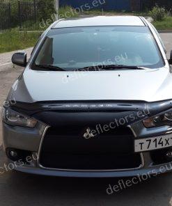Дефлектор за преден капак за Mitsubishi Lancer 2011- (дълъг)